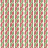 Vlecht eenvoudig retro patroon Royalty-vrije Stock Afbeelding