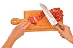 Vlees Royalty-vrije Stock Fotografie