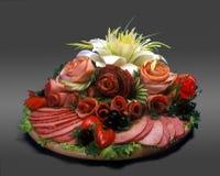 Vlees allsorts royalty-vrije stock foto