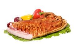 Vlees en groenten Stock Afbeelding