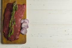 Vlees en groenten Stock Foto
