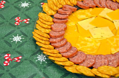 Vlees en kaasvoorgerecht Royalty-vrije Stock Foto