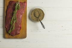 Vlees en Kruiden Royalty-vrije Stock Afbeeldingen