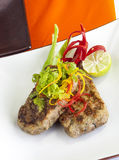 Vlees jimikand kotelet Royalty-vrije Stock Foto's