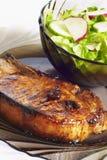 Vlees met groenten Stock Foto's