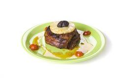 Vlees met pineappl Royalty-vrije Stock Foto