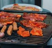 Vlees op barbecue Royalty-vrije Stock Foto