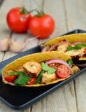 Vlees Tacoes Stock Afbeelding