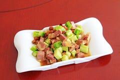Vlees van de snacks van ezelskenmerken Royalty-vrije Stock Foto