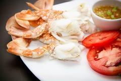 Vlees van krabbenbenen Stock Foto