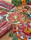 Vlees van varken en kip Royalty-vrije Stock Foto