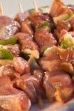 Vlees voor barbecue Stock Afbeeldingen