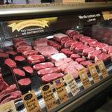 Vleesafdeling Royalty-vrije Stock Foto's