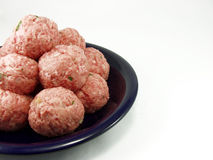 Vleesballetjes Royalty-vrije Stock Afbeelding