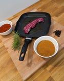 Vleesgrill Stock Afbeelding