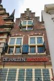 Vleeshalen (kött-korridor) på Groten Markt i Haarlem Arkivbild