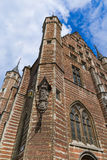 The Vleeshuis Butcher Hall in Antwerp Belgium. Architecture background Royalty Free Stock Photography