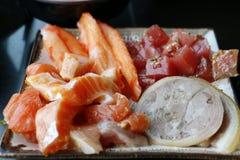 Vleesmaaltijd Stock Afbeeldingen