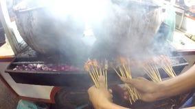 vleespen stock videobeelden