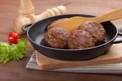 Vleesrissoles Royalty-vrije Stock Foto