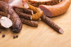 Vleeswaren royalty-vrije stock afbeelding