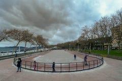 Vleetpark in Vigo Stock Fotografie