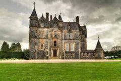 Vlei Huis bij het kasteel Royalty-vrije Stock Afbeeldingen