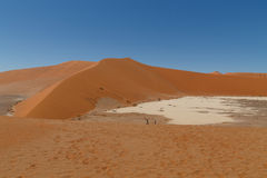 Vlei nascosto Deserto namibiano immagine stock libera da diritti