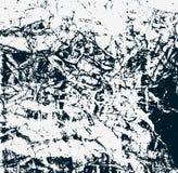 Vlek geweven oppervlakte Vector illustratie Oude gekraste beschadigde abstractie Barstbehang Stock Fotografie