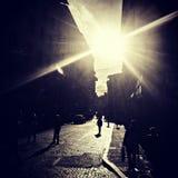 Vlek het licht Royalty-vrije Stock Afbeelding