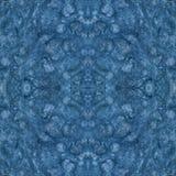 Vlek met document textuur De achtergrond van de waterverf Naadloos textuur blauw patroon vector illustratie