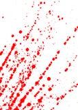 Vlekken van bloed Royalty-vrije Stock Afbeeldingen