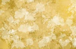 Vlekken van het schilderen conformig beeld van geelachtige kleur Royalty-vrije Stock Fotografie