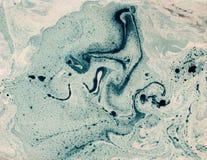 Vlekken van verf op papier De textuur van de plonsen en de vlekken van verf stock illustratie