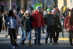 Vleselijk Cadiz Mensen in straat 66 Royalty-vrije Stock Foto's