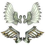 Vleugel-2 Stock Afbeeldingen