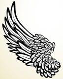 Vleugel Royalty-vrije Stock Afbeelding