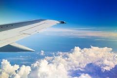 Vleugel van het vliegtuig Royalty-vrije Stock Foto's