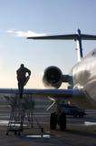 Vleugel van vliegtuig 2 Stock Fotografie