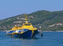 Vleugelbootschip Royalty-vrije Stock Foto's