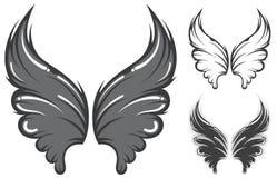 Vleugels vector illustratie