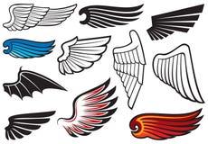 Vleugels Royalty-vrije Stock Foto's