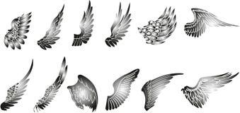 vleugels Stock Afbeelding