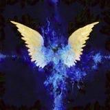 Vleugels het Schilderen royalty-vrije illustratie