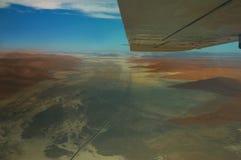 Vleugels over Namib Royalty-vrije Stock Fotografie