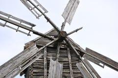 Vleugels van de oude molen Royalty-vrije Stock Foto