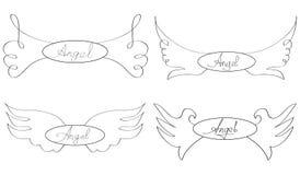 Vleugels van een engel vector illustratie