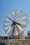 Vleugels van een traditionele windmolen Royalty-vrije Stock Foto's