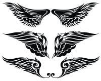 Vleugelsinzameling Royalty-vrije Stock Afbeelding