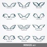 Vleugelsinzameling Royalty-vrije Stock Afbeeldingen